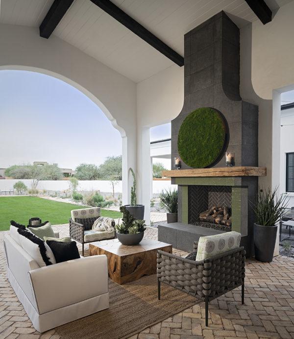 ICONIC HAUS Winter 2020 covered patio amenities