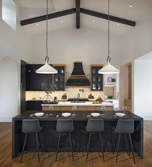 ICONIC HAUS Winter 2020 main living area kitchen