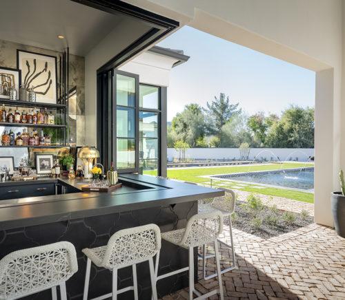 ICONIC HAUS Winter 2020 outdoor bar amenities