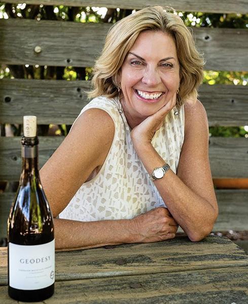Judy Jordan founder of Geodesy Vineyard