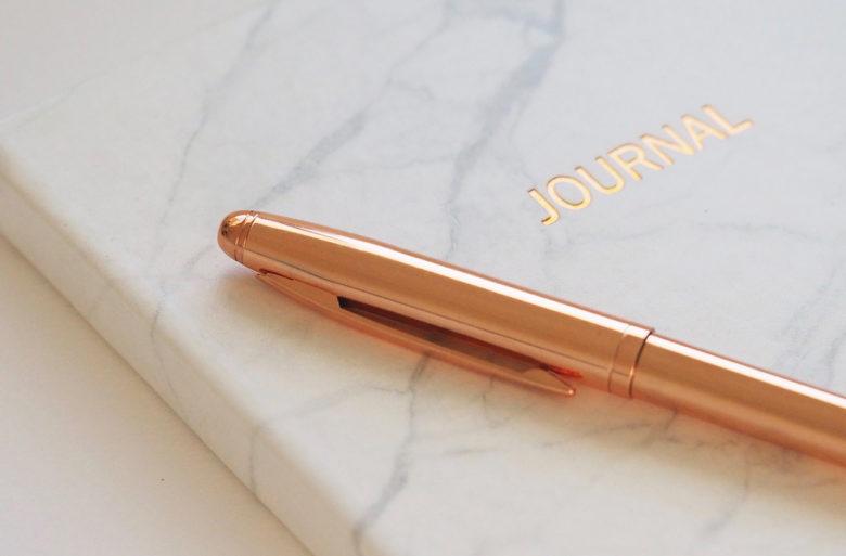 emotional health benefits of writing a gratitude journal