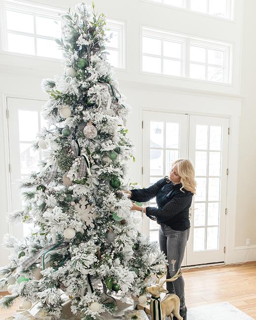influencer Holly Jolley Christmas tree design