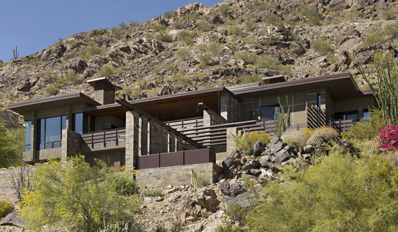 modern desert luxury home design by Swaback Associates