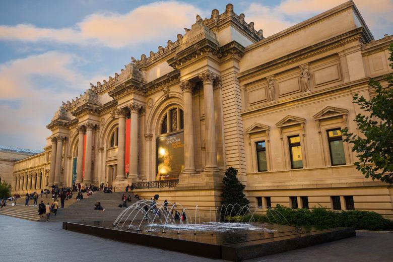virtual musrum tour at the MET in New York