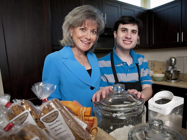 Denise and Matt Resnik at residential autism community