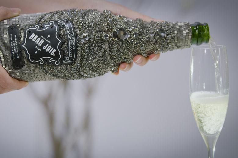 Marchesa for Beau Joie champagne by Jon Deitelbaum