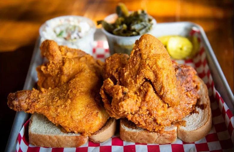 Prince's Hot Chicken in Nashville TN