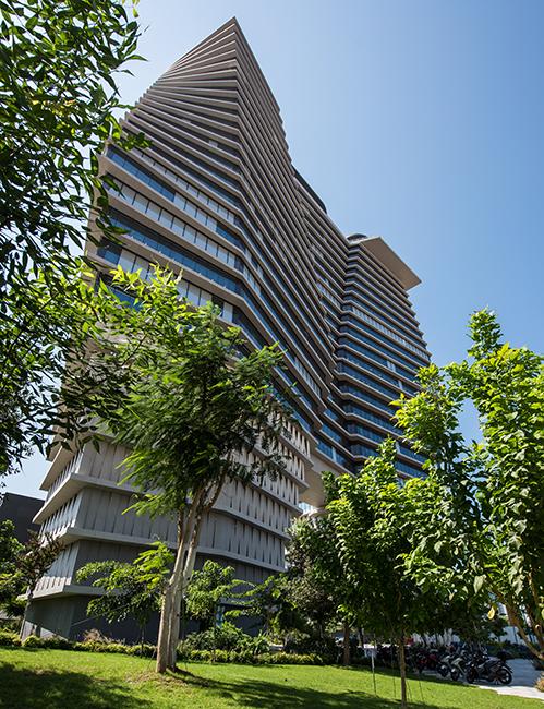 Ron Arad's industrial design ToHa upside down building
