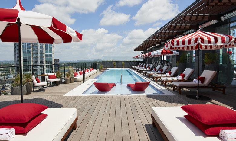 stay at Virgin Hotel in Nashville TN.