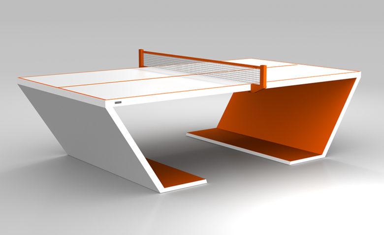 11 Ravens Cabaret modern ping pong table