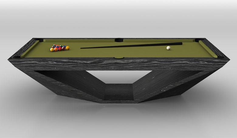 11 Ravens custom luxury Stealth pool tables