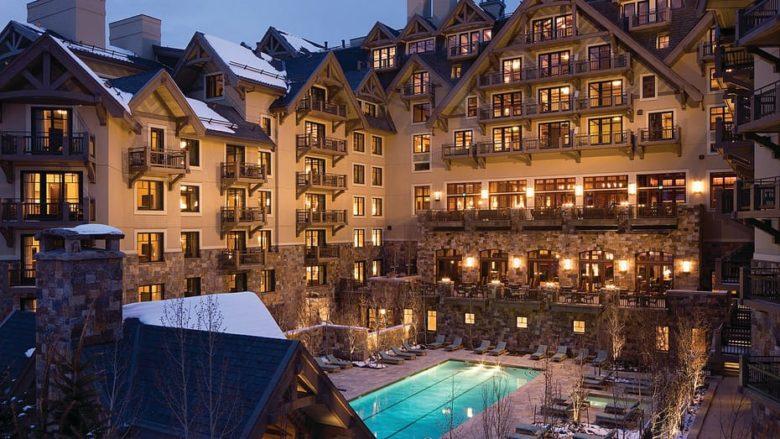 best design luxury ski resort Four Seasons Vail