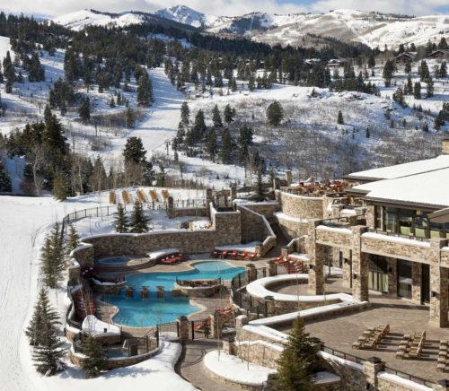 best design luxury ski resort St. Regis Deer Valley