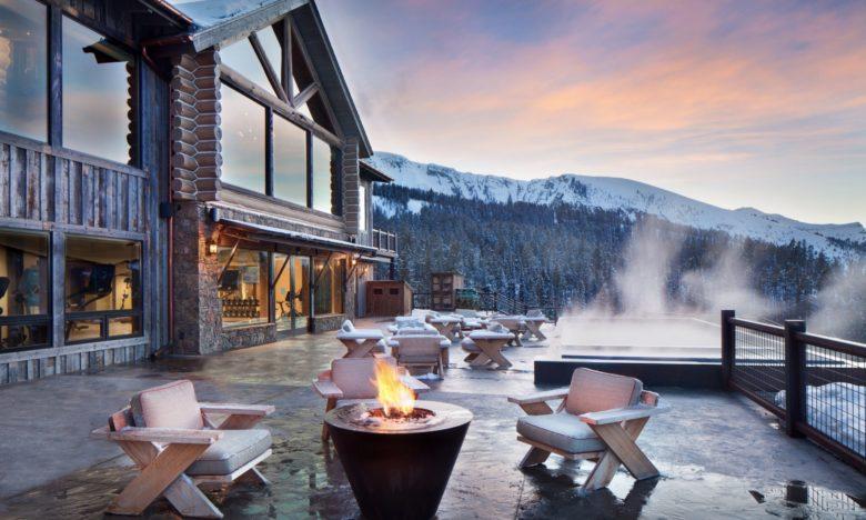 best design luxury ski resort Yellowstone Club