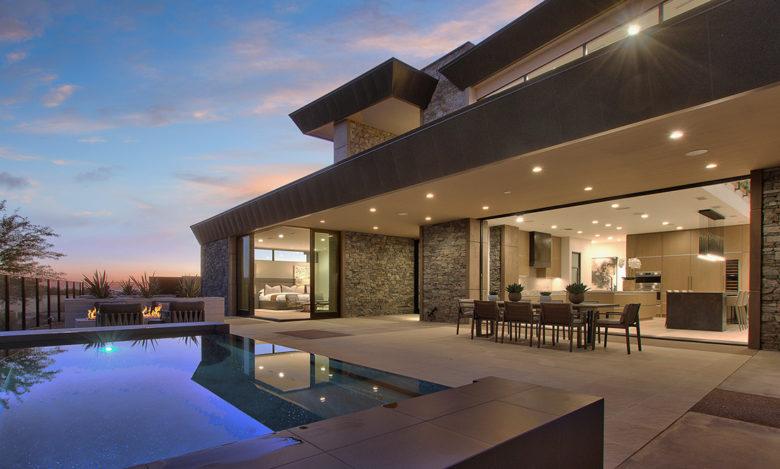luxury custom home design in Scottsdale by Cullum