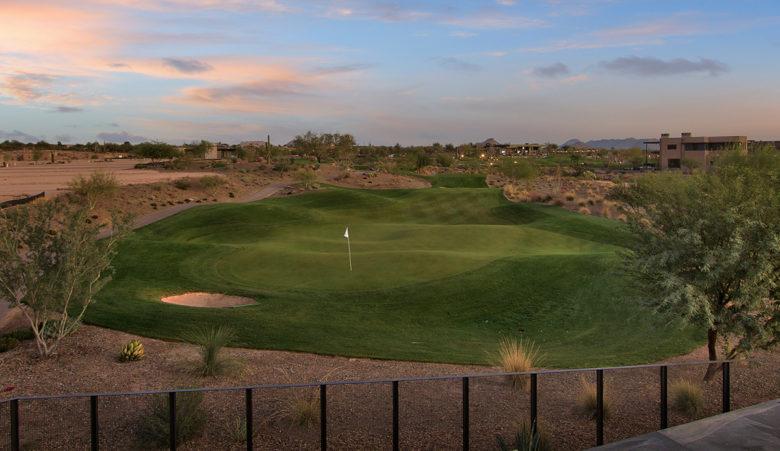 luxury custom home on Scottsdale golf course