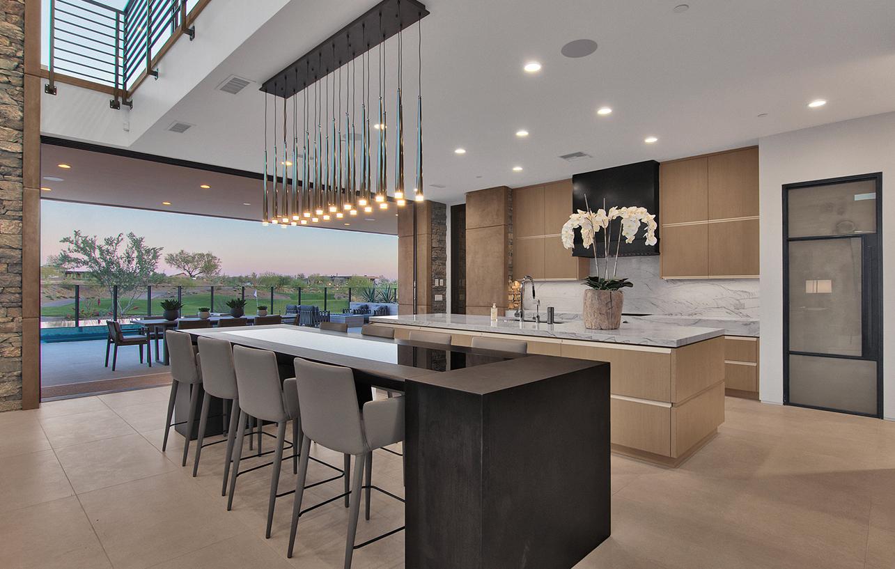 luxury kitchen home design by Cullum Homes