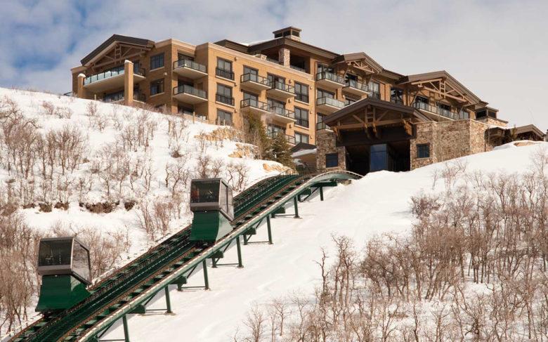luxury ski resort design St. Regis Deer Valley