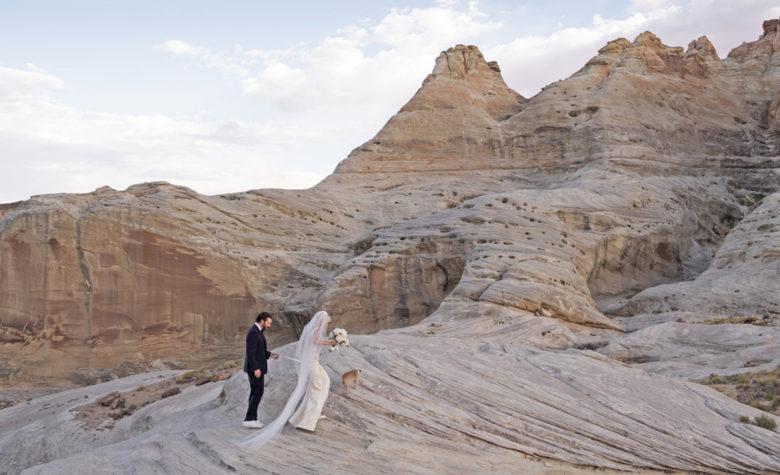 Amangiri covid destination wedding location