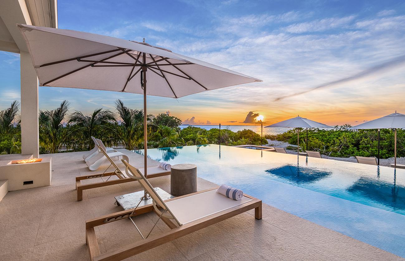 Beach Enclave Grace Bay luxury home rental