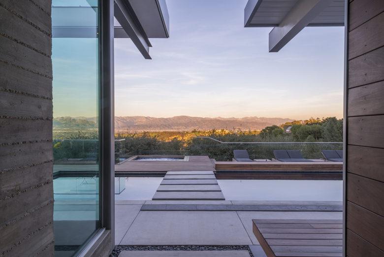 Christopher Mercier architect of modern Davis Factor home