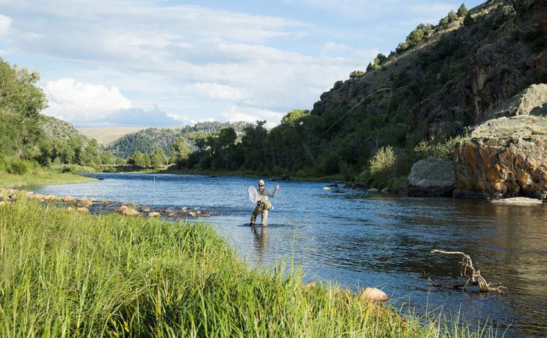 Fly Fishing at Brush Creek Ranch Wyoming