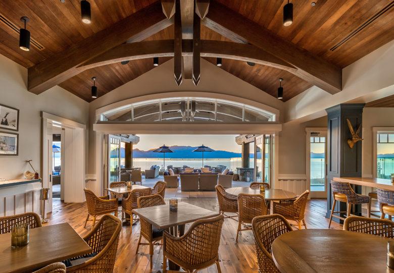 Lake Tahoe Beach Club modern luxury living