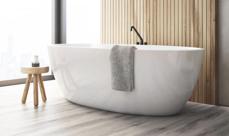 bathroom flooring trends by AZ Hardwood