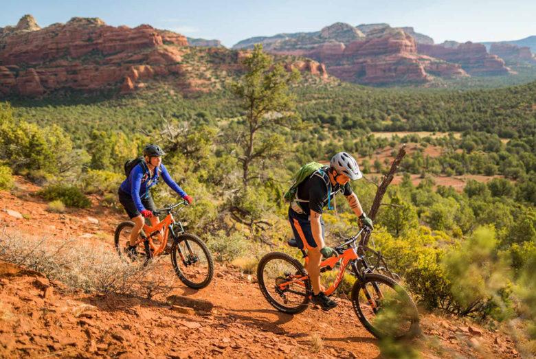 biking at Enchantment Resort Sedona Arizona