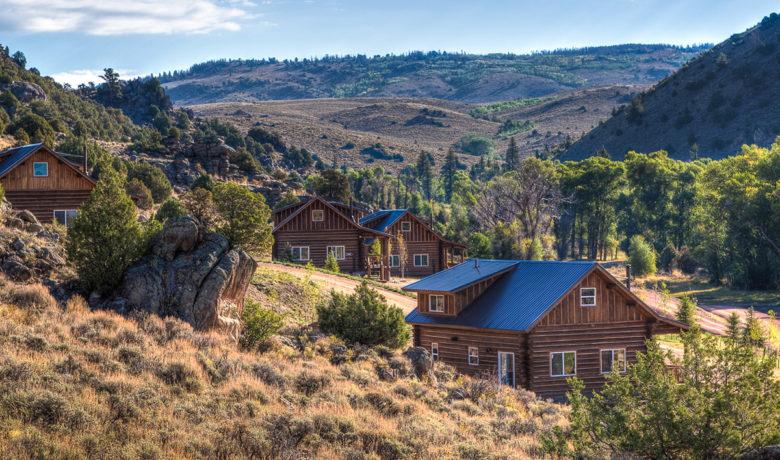 cabins at Brush Creek Ranch Wyoming