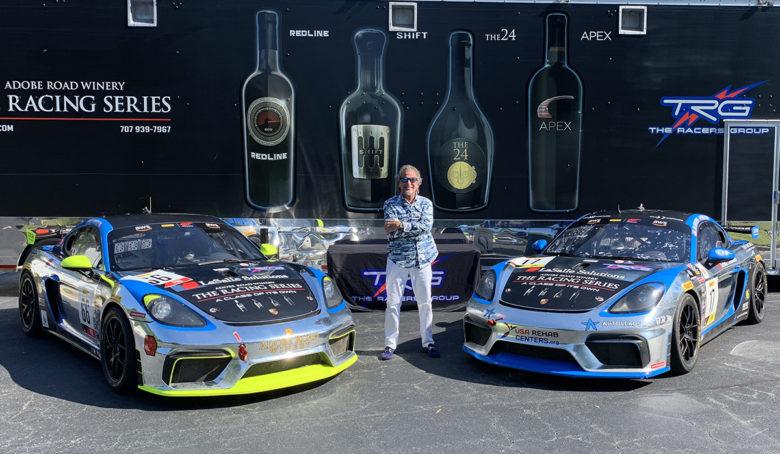 car racer and winemaker Kevin Buckler