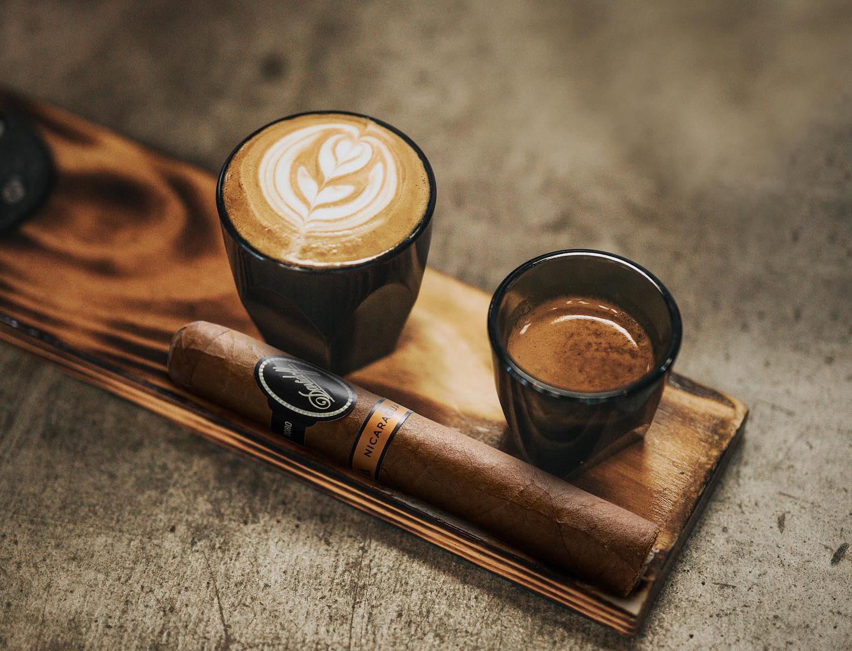 cigar number one pairing is coffee