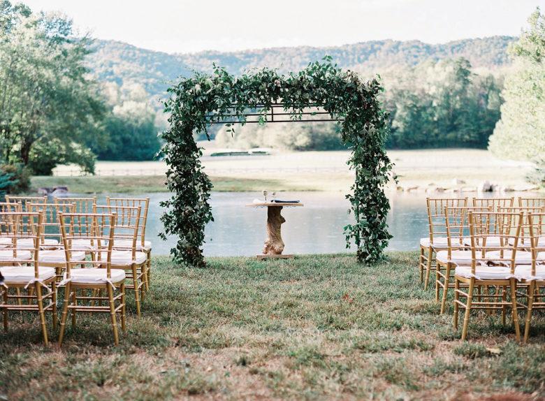 covid destination wedding at Blackberry Farm TN