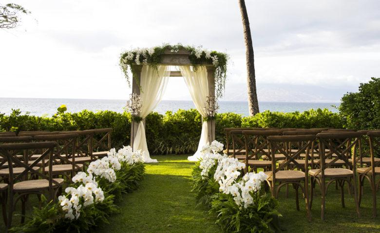 covid destination wedding at Grand Wailea Hawaii