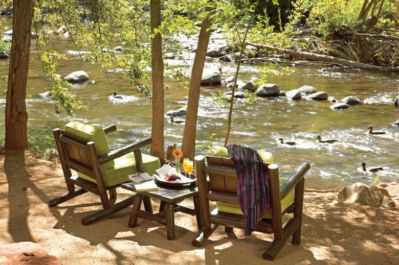 creekside resort L'Auberge in Sedona