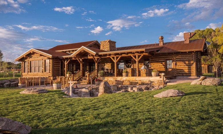 luxury Magee Homestead at Brush Creek Wyoming