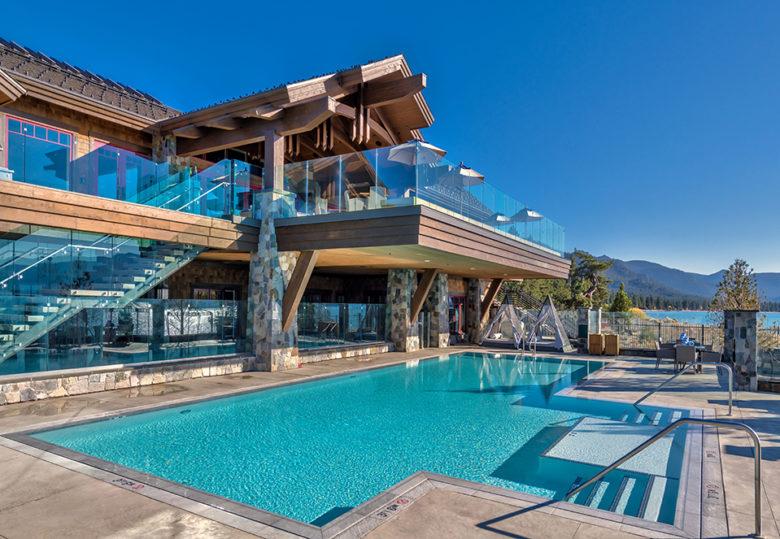 luxury living at Lake Tahoe Beach Club