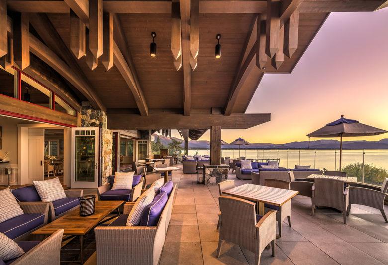 luxury living at Lake Tahoe Beach and Ski Club