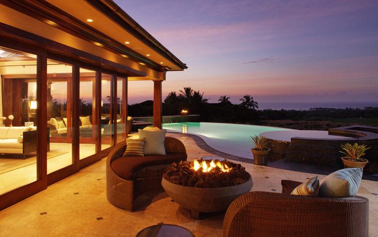 luxury vacation home rental Hualalai Estate Hawaii