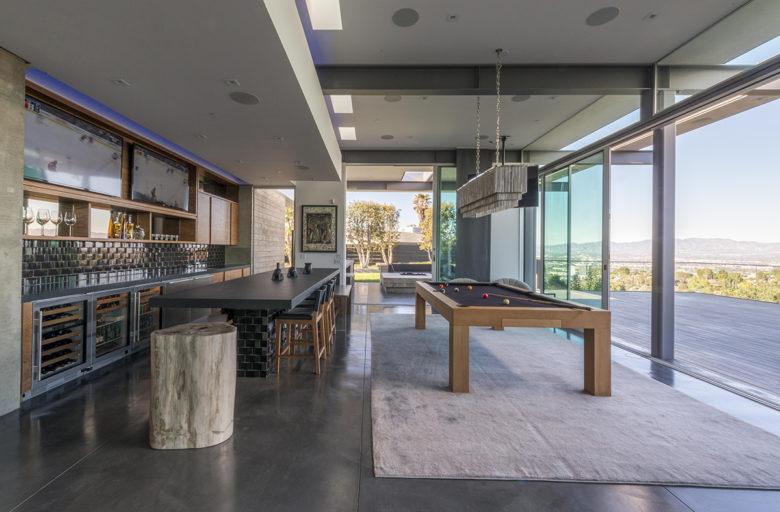 modern LA home by architect Christopher Mercier