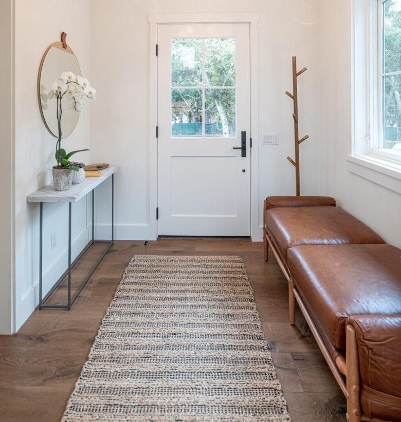 neutral hallway flooring trends from AZ Hardwood