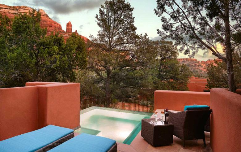 spa suite Enchantment Resort Sedona Arizona