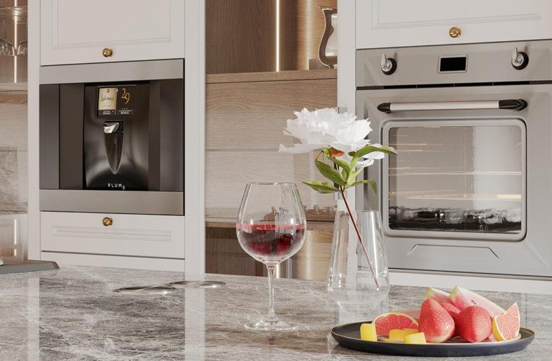 Plum smart home technology wine station