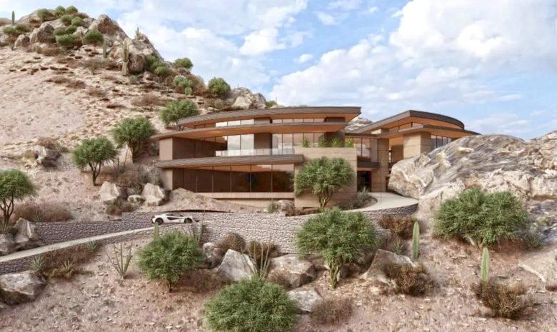 Rich Brock's luxury custom home development