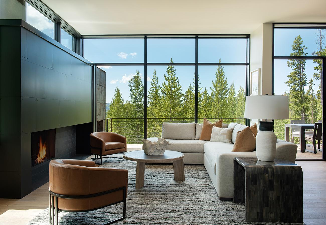 River + Lime modern mountain interior design firm