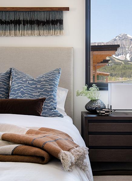 River + Lime modern mountain interior design
