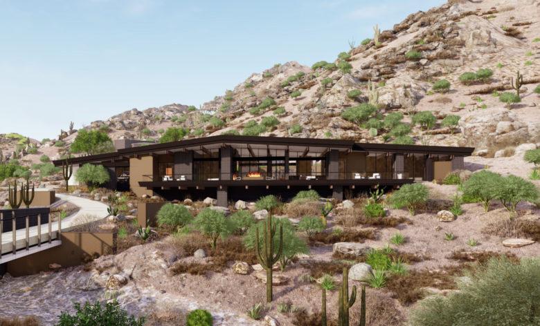 custom luxury home development by Rich Brock