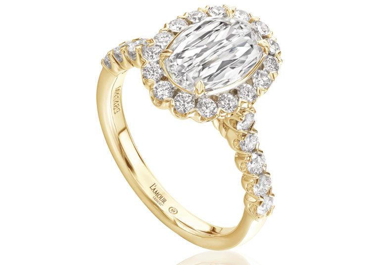 luxury modern engagement ring designs
