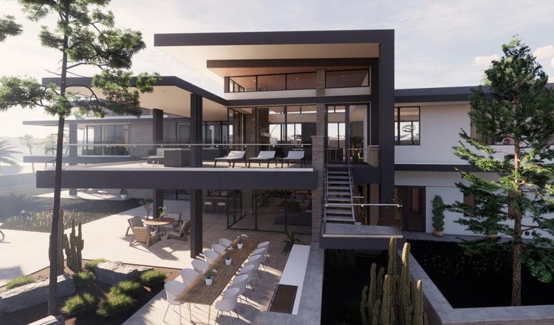 modern San Bernadino home by PHX Architecture
