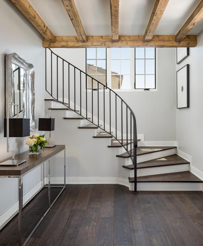 modern design home built by Cullum Homes